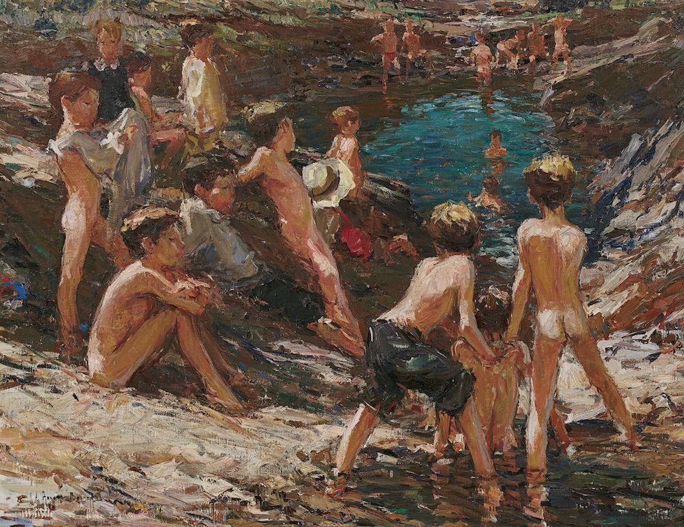 Голая На Пляже Рассказ