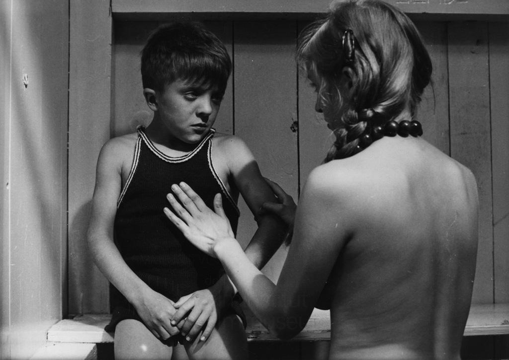 Мальчик Смотрит Голую Мать