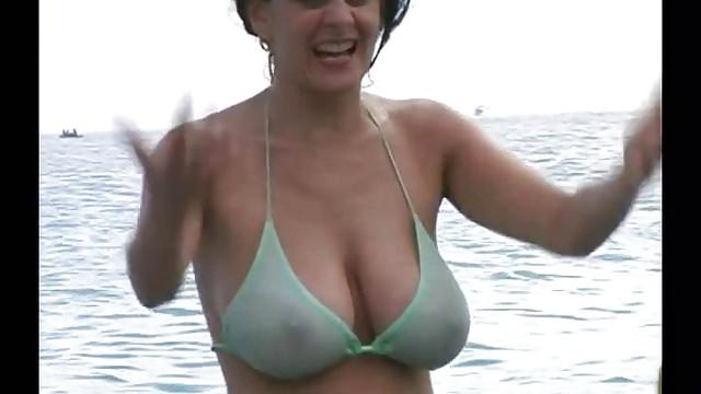 Голые Мамки И Жены На Пляже