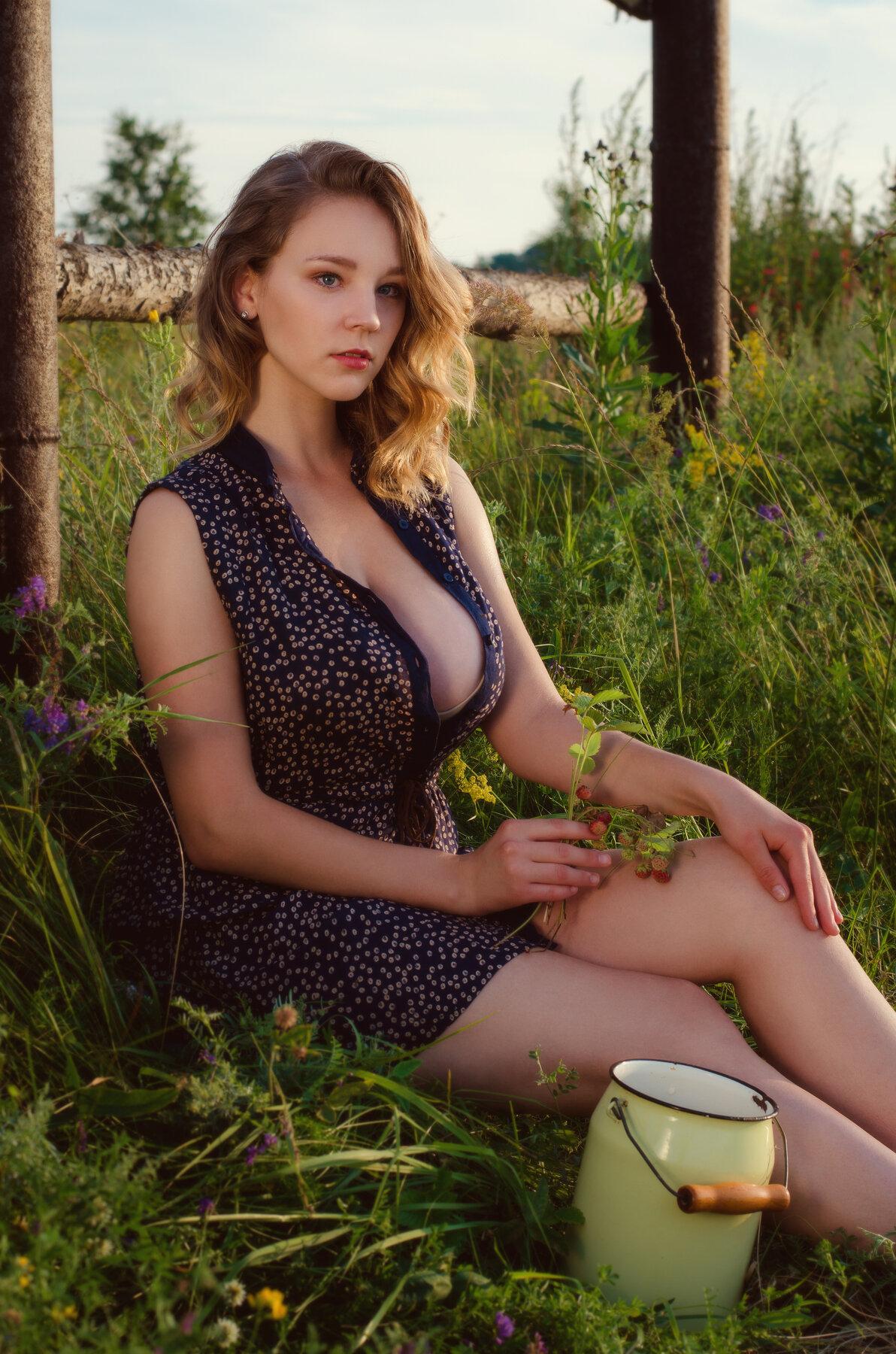 Фото Деревенские Голые Сисястые Бабы