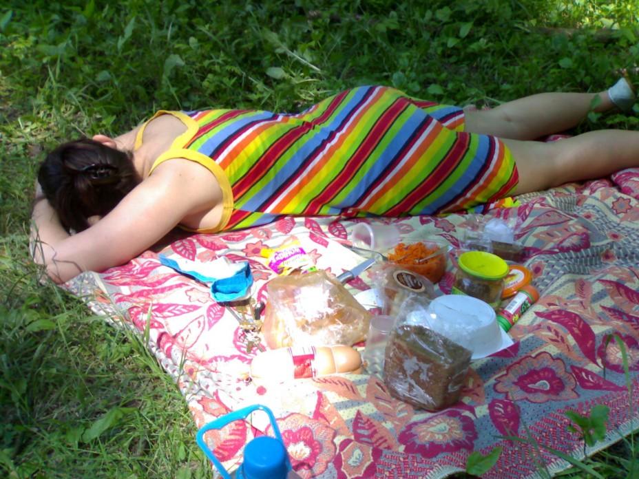 Голые Русские Пьяные На Природе