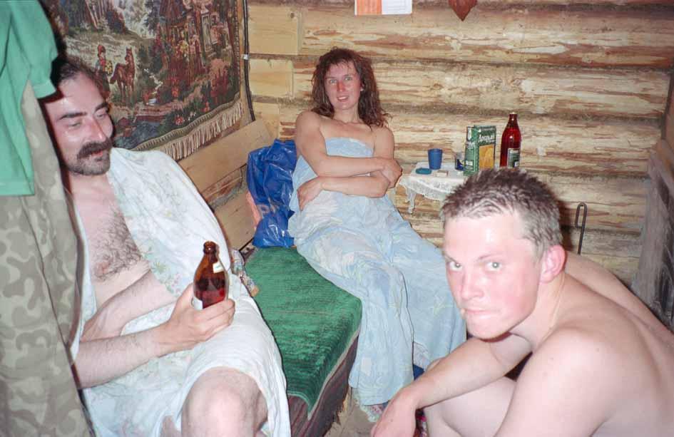 Голые Пьяные В Бане