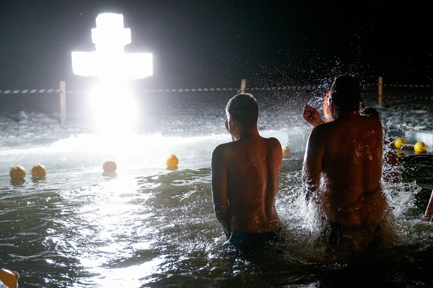 Голые Купания На Крещение Вк