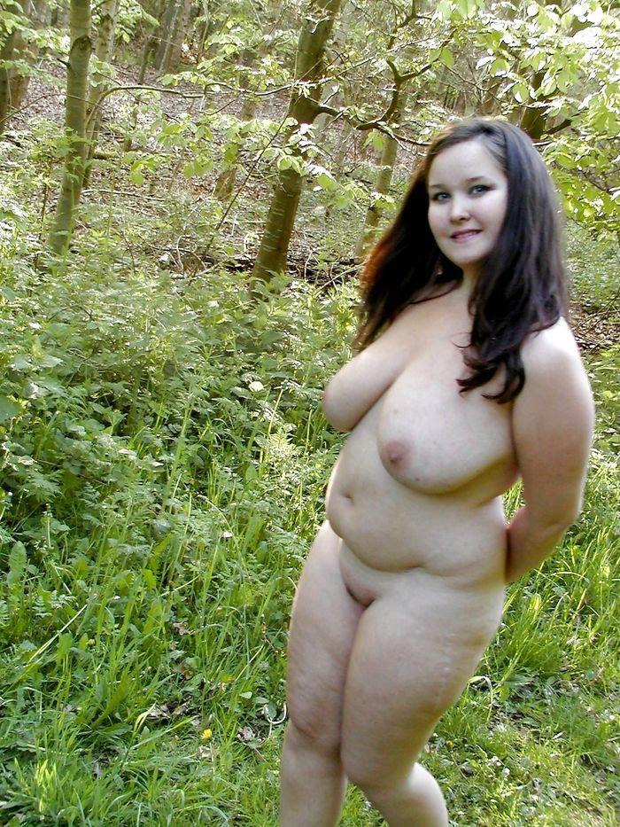 Толстые Голые Женщины На Природе