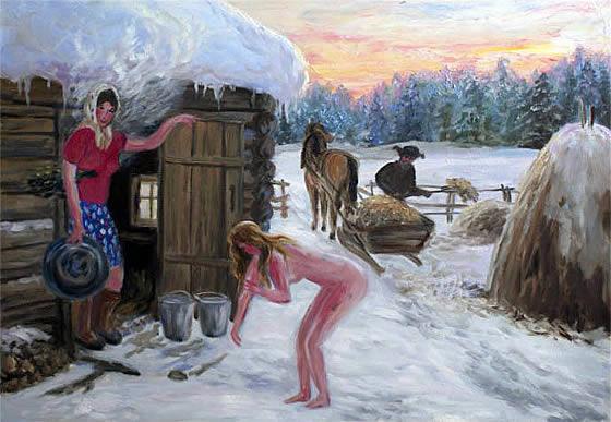 Голые Деревенские Женщины В Бане Скачать Бесплатно