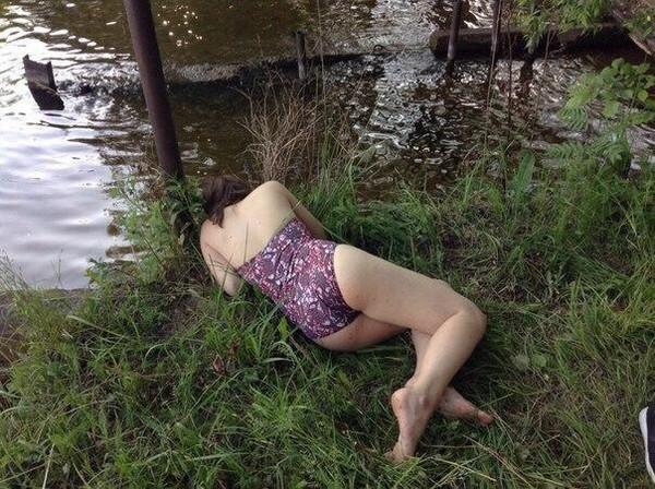 Голая Пьяная Ольга