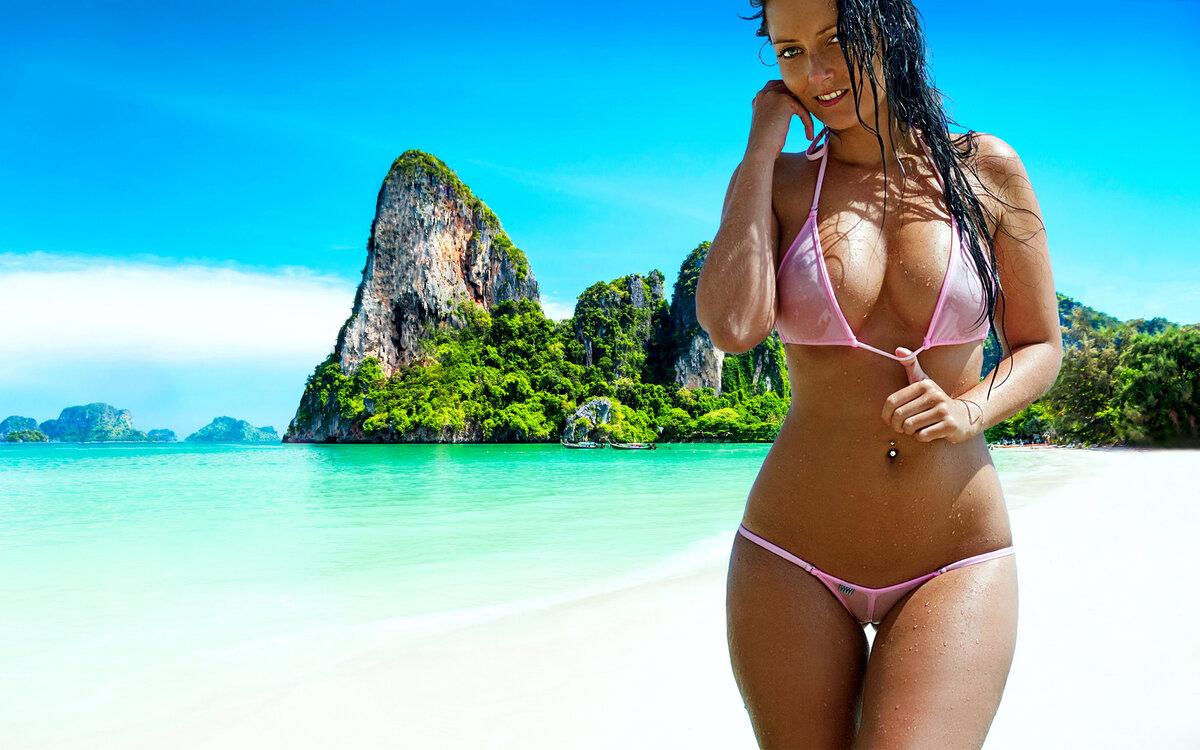 Голые Бабы На Пляже Видео Бесплатно