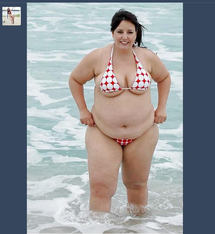 Голые Толстые На Пляже