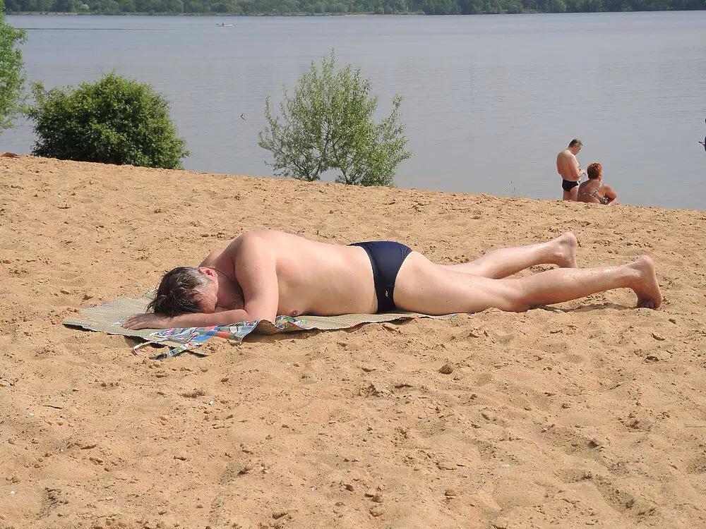 Голый Пляж На Озере