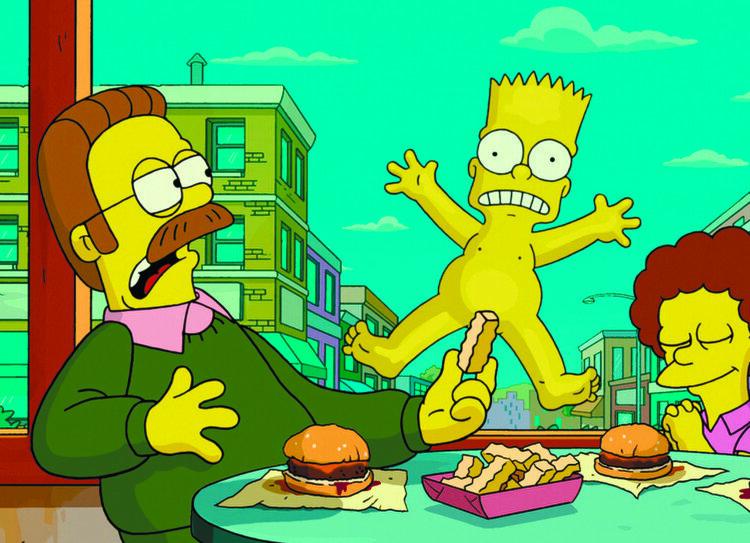 Симпсоны Барт И Милхаус Смотреть Голые Тетки